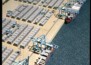 Cargo Dock Model