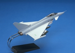 Eurofighter Typhoon model at 1:48 scale