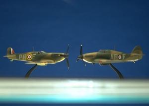 WW II Spitfire & Hurricane Models - Chartermasters