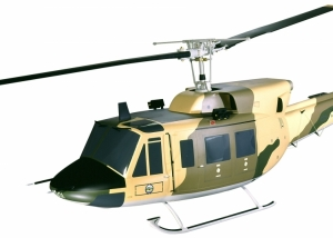 1:4 scale Bell 412 Helicopter - RSAF Livery - BAE Systems