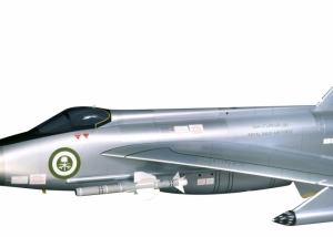 1:4 Scale Lightning - RSAF Livery - BAE Systems