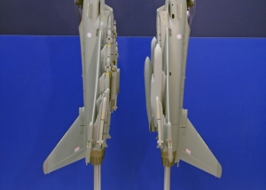 Vertical Standing 1:12 Scale Eurofighter Typhoons
