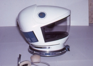 Astronaut Helmet and Headset - 2001: A Space Odyssey