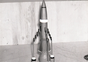 Thunderbird 3 ready for decals