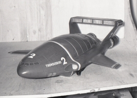 Thunderbird 2 ready for filming