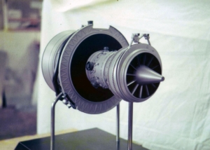 RB 211 Jet Engine Model - Rolls Royce