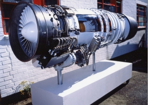 Full size jet engine - Lucas Aerospace