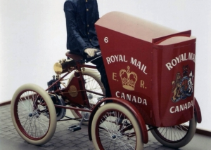 Postal Delivery Quadricycle - Canadian Postal Museum, Ottawa