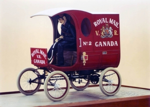 Postal Carriage - Canadian Postal Museum, Ottawa