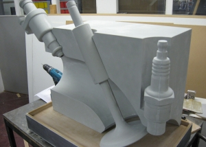 Valve Demonstrator under construction - Shell Research