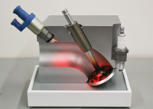 Valve Demonstrator Model with light on - Shell Research